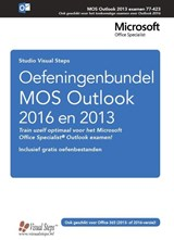 Oefeningenbundel MOS Outlook 2016 en 2013 | Studio Visual Steps |