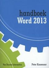 Handboek Word 2013 2013 | Peter Kassenaar |