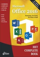 Het Complete Boek Office 2016   Peter Kassenaar  