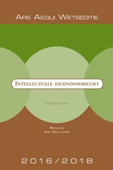 Ars Aequi Wetseditie Intellectuele-eigendomsrecht |  | 9789069168678