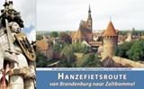 Hanzefietsroute van Brandenburg (of Berlijn) naar Zaltbommel - deel 3 | Wannet, Michaël | 9789077056257