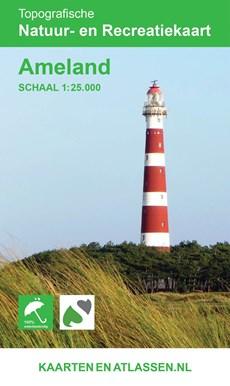 Wandelkaart Ameland 1:25.000