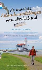 De mooiste eilandwandelingen van Nederland | Sietske de Vet ; Rutger Burgers ; Menno Zeeman | 9789078641377
