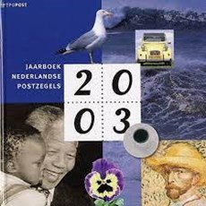 Yearbook Dutch Stamps / 2003