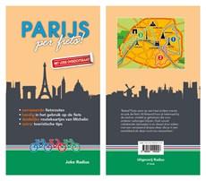 Parijs per fiets! Fietsgids met losse overzichtskaart