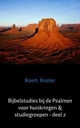 Bijbelstudies bij de Psalmen voor huiskringen & studiegroepen - deel 2 | Koert Koster |