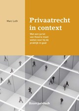 Privaatrecht in context | Marc Loth | 9789462904064