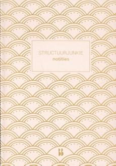 Structuurjunkie notitieboek (roze)