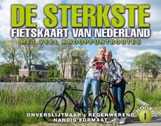 De sterkst fietskaart van Nederland deel 1 : Noord- en Midden-Nederland