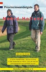 Provinciewandelgids Noord-Holland - wandelen Noord-Holland | Bart van der Schagt |