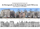 De Herengracht en de Keizersgracht rond 1768 en nu | Theo Bakker |