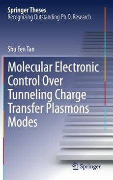 Molecular Electronic Control Over Tunneling Charge Transfer Plasmons Modes