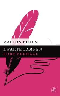 Zwarte lampen   Marion Bloem  