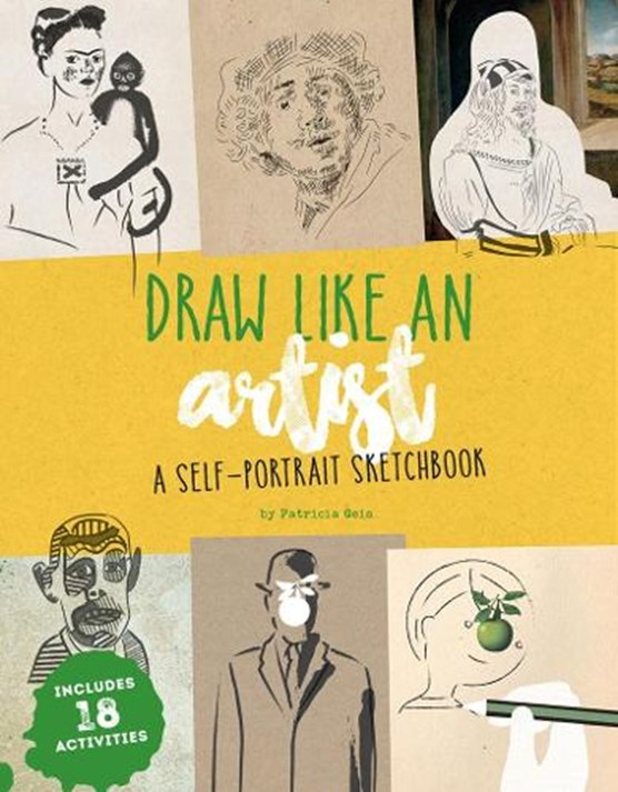 Draw like an artist: a self-portrait sketchbook