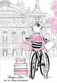 Chic: a fashion odyssey - megan hess boxed journal set | megan hess |