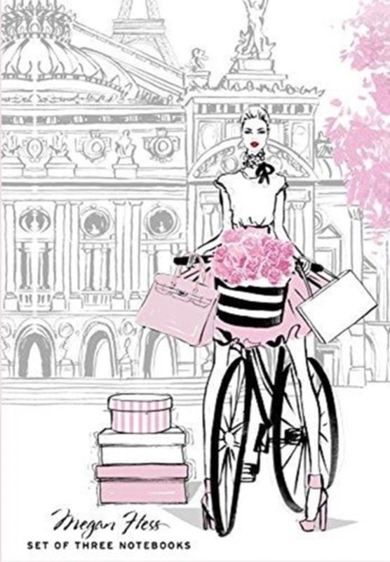 Chic: a fashion odyssey - megan hess boxed journal set