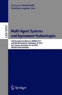 Multi-Agent Systems and Agreement Technologies | Francesco Belardinelli ; Estefania Argente |