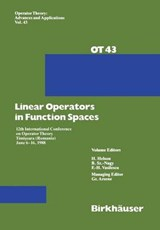 Linear Operators in Function Spaces | G. Arsene |