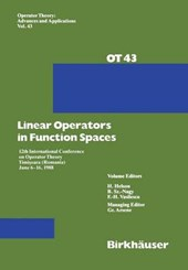 Linear Operators in Function Spaces