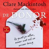 De donor | Clare Mackintosh |