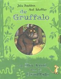 De Gruffalo / Het kind van de Gruffalo kartonboekjes in cassette   Julia Donaldson  