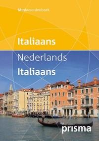 Prisma miniwoordenboek Italiaans-Nederlands Nederlands-Italiaans | Prisma redactie |