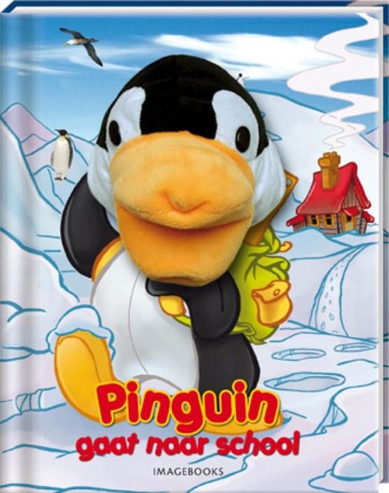Pinguin gaat naar school (handpopboek)