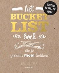 Het Bucketlist boek   Elise De Rijck  