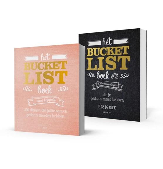 Pakket Bucketlist voor koppels + Bucketlist boek 2