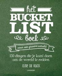 Het Bucketlist boek voor een groene wereld | Elise De Rijck |