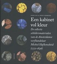 Een kabinet vol kleur   Ineke Pey ; Ernst Homburg  
