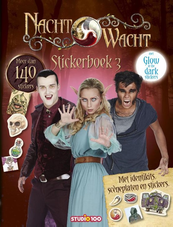 Nachtwacht stickerboek 3