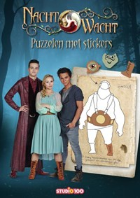 Nachtwacht : Doeboek - Puzzelen met stickers   Gert Verhulst  