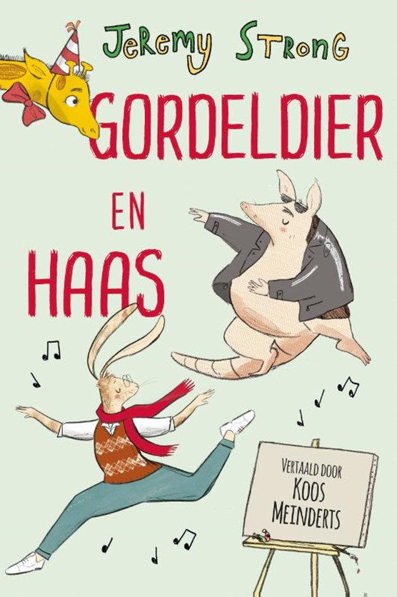Gordeldier en Haas