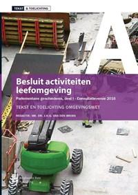 Besluit activiteiten leefomgeving   J.H.G. van den Broek  