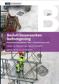 Besluit bouwwerken leefomgeving   J.H.G. van den Broek  