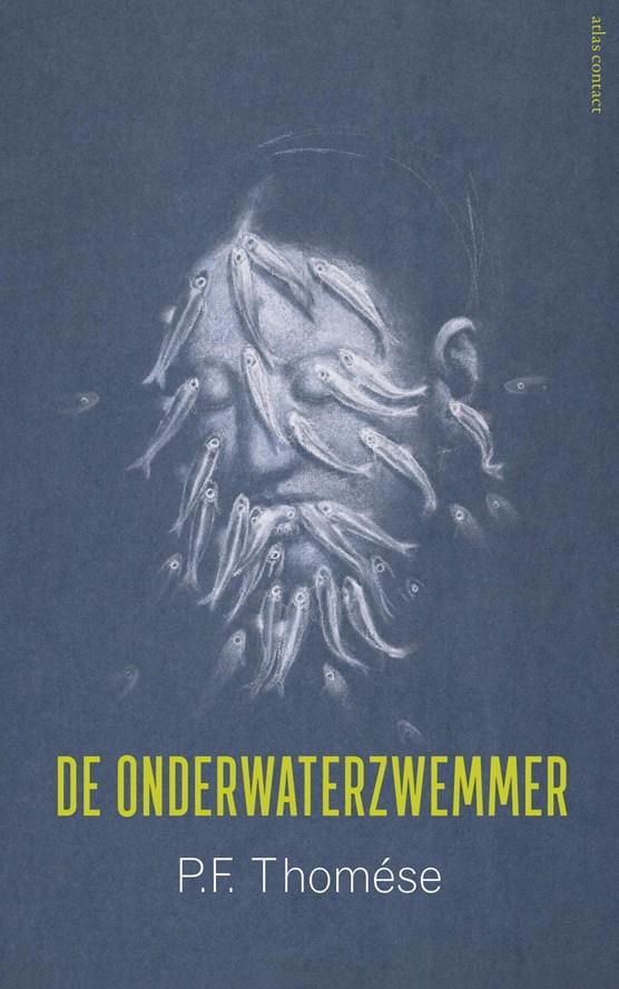 De onderwaterzwemmer