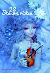 28 Blauwe violen