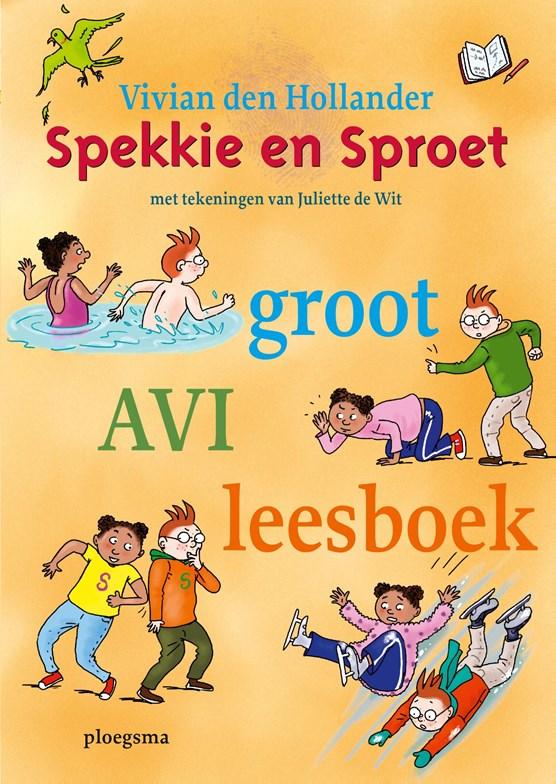 Spekkie en Sproet groot AVI leesboek