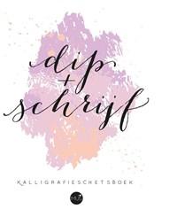 Dip & schrijf kalligrafieschetsboek | N. Neven |